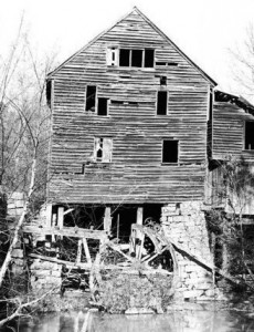Yates Mill 1980s by Gaylen Daves
