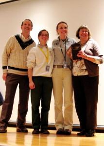 Park staff honors volunteers