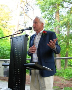 John Vandenbergh at annual meeting
