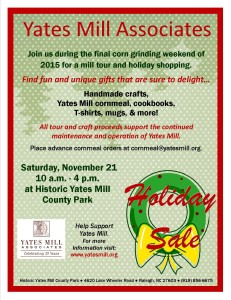 Holiday sale flier